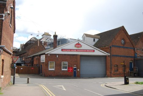 Die Shepherd Neame Brewery in Faversham (Kent).   © Copyright N Chadwick and licensed for reuse under this Creative Commons Licence.