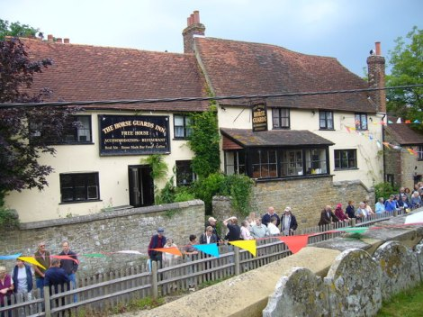 Pub of the Year 2017: The Horseguards Inn in Tillington (West Sussex).   © Copyright Shazz and licensed for reuse under this Creative Commons Licence.
