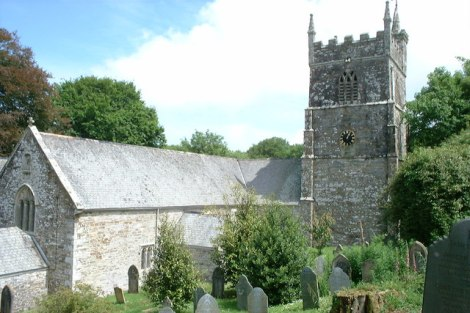 St Symphorian in Veryan (Cornwall).   © Copyright Dave Kelly and licensed for reuse under this Creative Commons Licence.