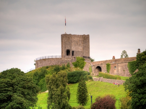 Clitheroe Castle.    © Copyright David Dixon and licensed for reuse under this Creative Commons Licence.
