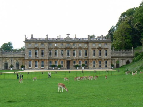 Darlington Hall = Dyrham Park.   © Copyright Brian Robert Marshall and licensed for reuse under this Creative Commons Licence.