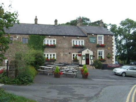 Rdisford Bridge Hotel.   © Copyright JThomas and licensed for reuse under this Creative Commons Licence.