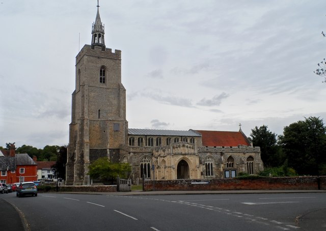 St Mary's in Boxford.  © Copyright Bikeboy and licensed for reuse under this Creative Commons Licence.
