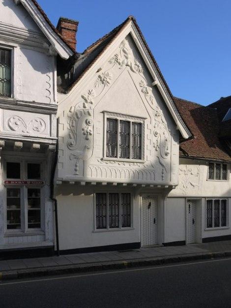 Ein Haus in der Church Street von Saffron Walden (Essex).   © Copyright Stefan Czapski and licensed for reuse under this Creative Commons Licence.