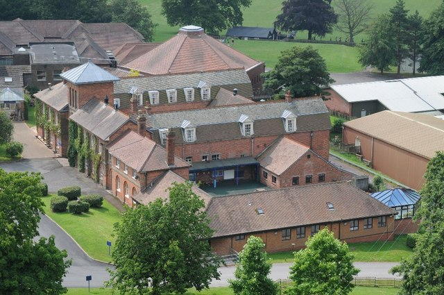 Die Abberley Hall School.  © Copyright Philip Halling and licensed for reuse under this Creative Commons Licence.