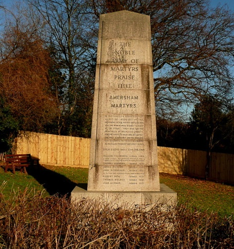 The Amersham Martyrs Memorial.    © Copyright Graham Horn and   licensed for reuse under this Creative Commons Licence.