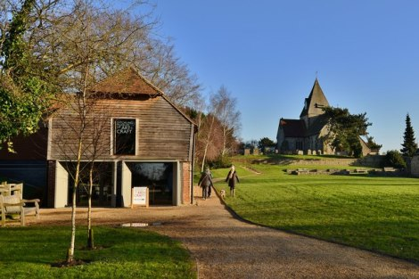 Das Ditchling Museum of Art + Craft.   © Copyright Michael Garlick and   licensed for reuse under this Creative Commons Licence.