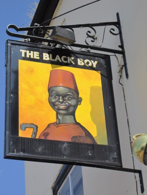 The Black Boy in Retford (Nottinghamshire).    © Copyright Ian S and   licensed for reuse under this Creative Commons Licence.