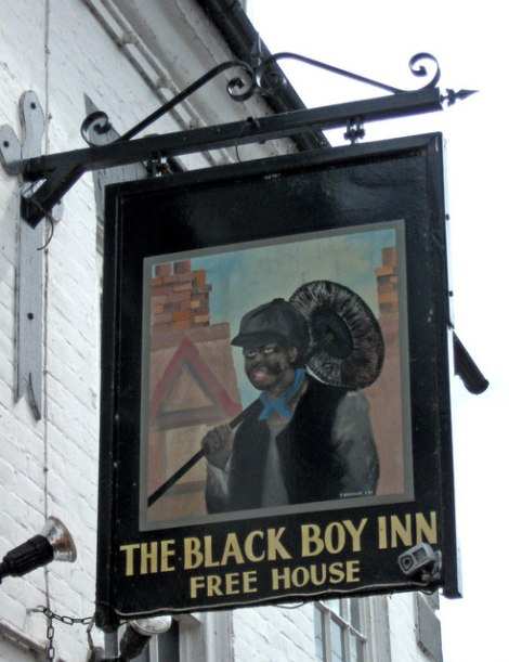 The Black Boy in Bridgnorth (Shropshire).    © Copyright P L Chadwick and   licensed for reuse under this Creative Commons Licence.