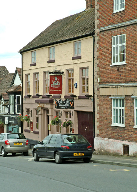 The Kings Arms in Cleobury Mortimer.   © Copyright P L Chadwick and licensed for reuse under this Creative Commons Licence.