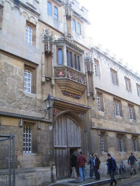 Das Corpus Christi College in Oxford.   © Copyright Nigel Cox and licensed for reuse under this Creative Commons Licence.